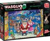 Wasgij Christmas 17 Elfinspectie puzzel - 2x1000 stukjes - Multicolor