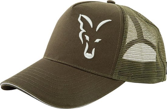 Fox Trucker Cap - Green / Silver - Zilver