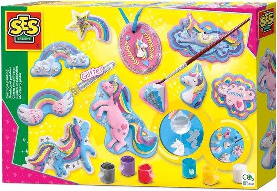 Afbeelding van SES - Gieten en schilderen - Eenhoorns speelgoed