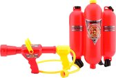 Brandweer brandblusser rugzak