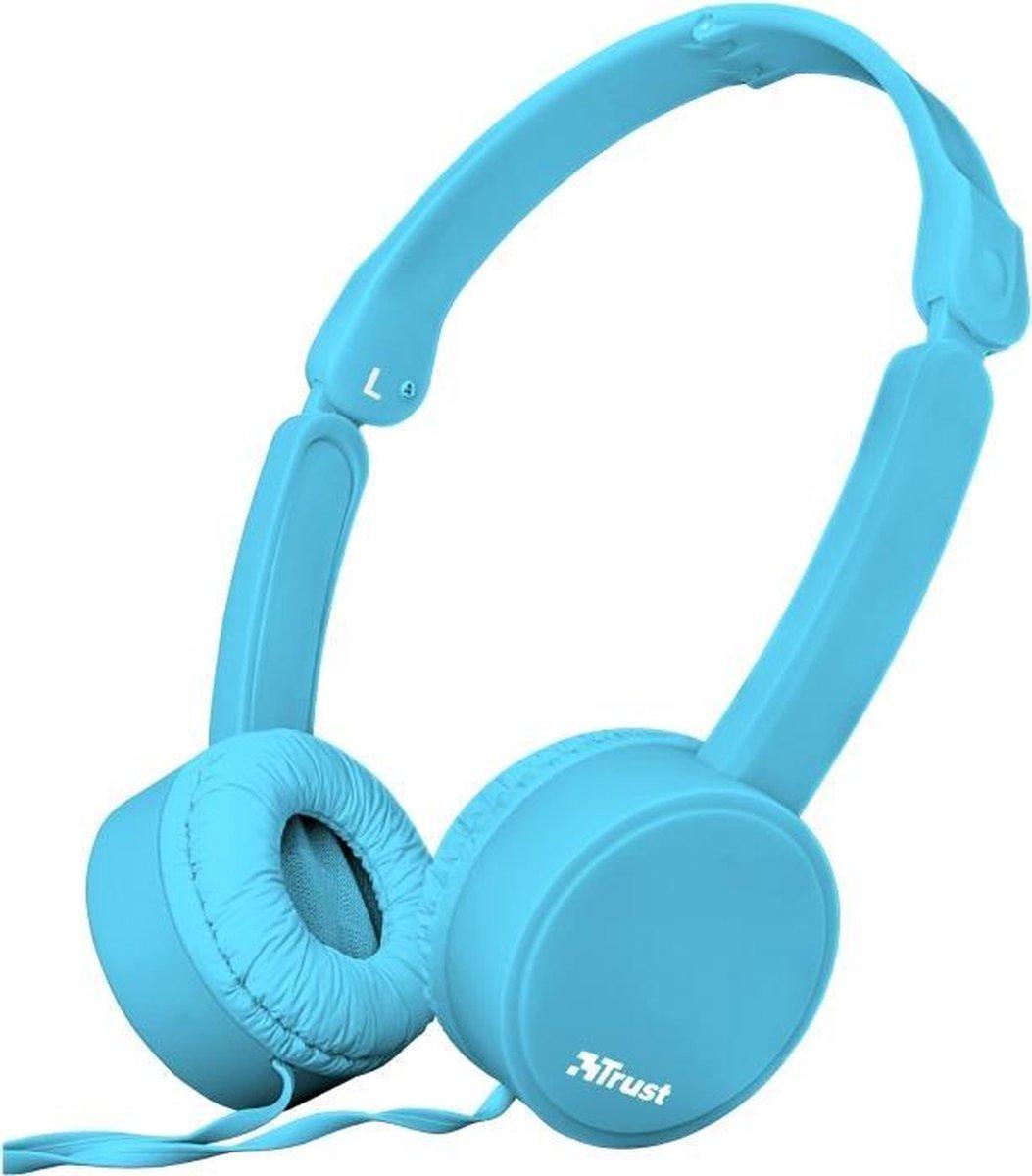 Trust Nano Headset Hoofdband Blauw