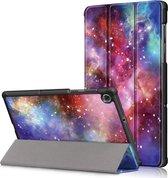 Lenovo Tab M10 FHD Plus TB-X606F Hoesje - Tri-Fold Book Case - Galaxy