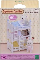 Sylvanian Families 4448 Stapelbed Voor Drie  - Speelfigurenset