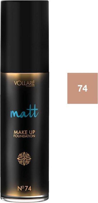 VOLLARE Make Up Matte Foundation #74 Warm Gold