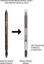 Maybelline Master Shape Brow Pencil - Deep Brown - Donkerbruin - Wenkbrauwpotlood