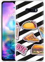 LG G8X ThinQ Hoesje Love Fast Food
