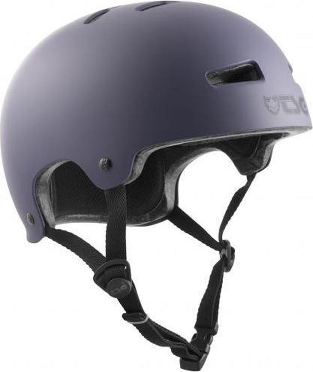 TSG Evolution skateboard helm satin lavandula