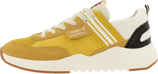 Franklin & Marshall Alpha Team Sneaker Men Ylw-Wht 42