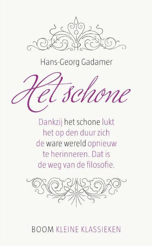 Kleine Klassieken - Het schone - Hans-Georg Gadamer |
