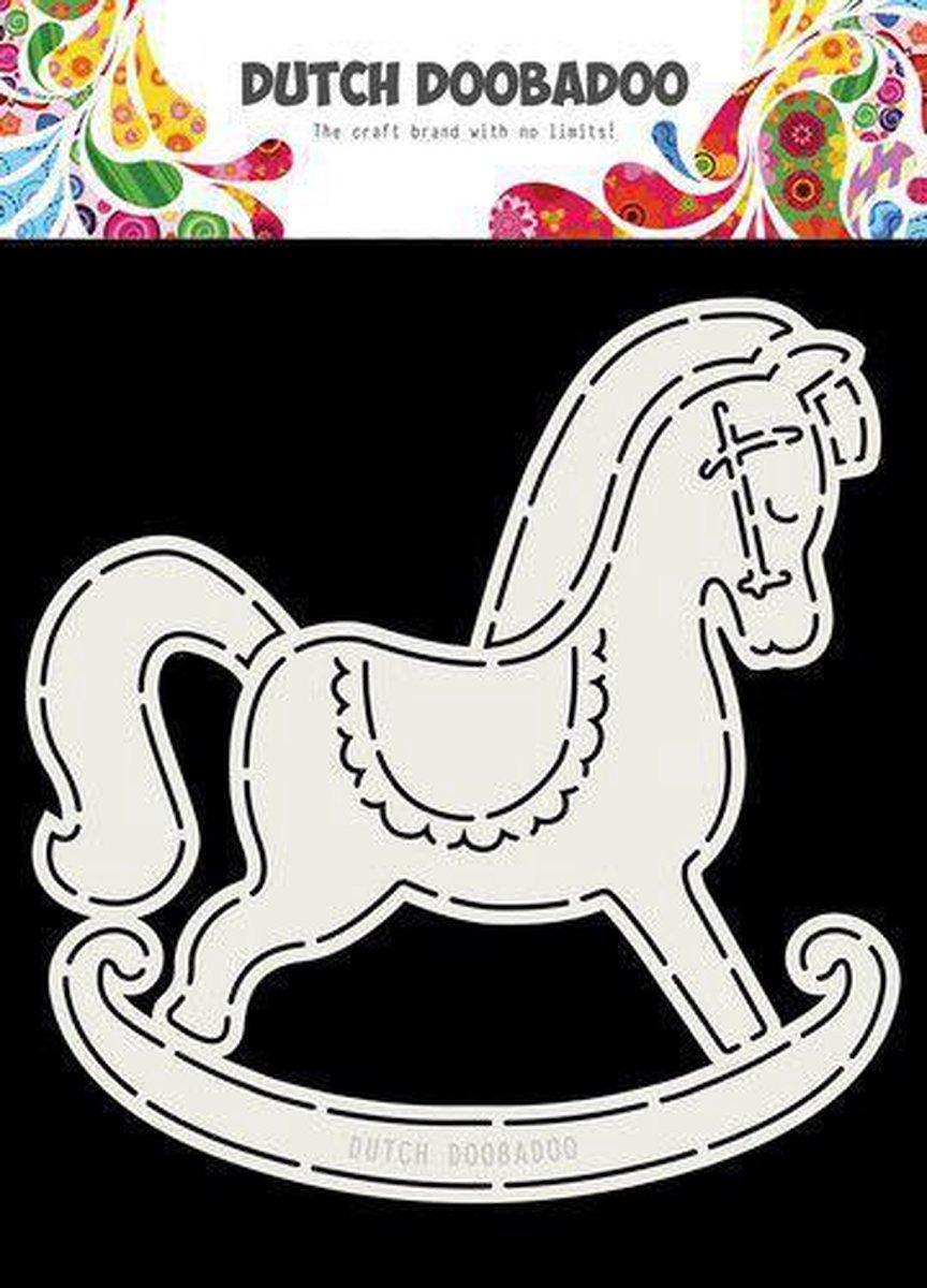 Dutch Doobadoo Card Art Schommelpaard A5 470.713.766