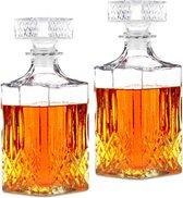 Alpina - Whiskey Karaf - 1 liter - Dubbele Set
