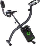 Tunturi Cardio Fit B25 X-Bike Hometrainer - Opvouwbare hometrainer met rugleuning