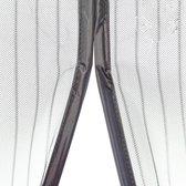 O'DADDY Vliegengordijn - 100x230 cm - Wit - Magnetisch