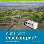 Boek cover Dus u wilt een camper? van Arie de Ruijter (Paperback)