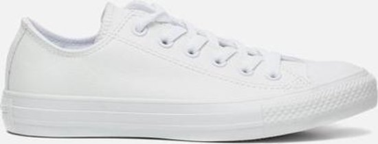 Converse - As Ox Sneaker Laag Sportief Dames Maat 37,5 Wit Mono White Leather dIrdNK