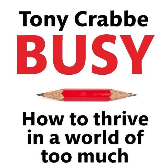 Boek cover Busy van Tony Crabbe (Onbekend)