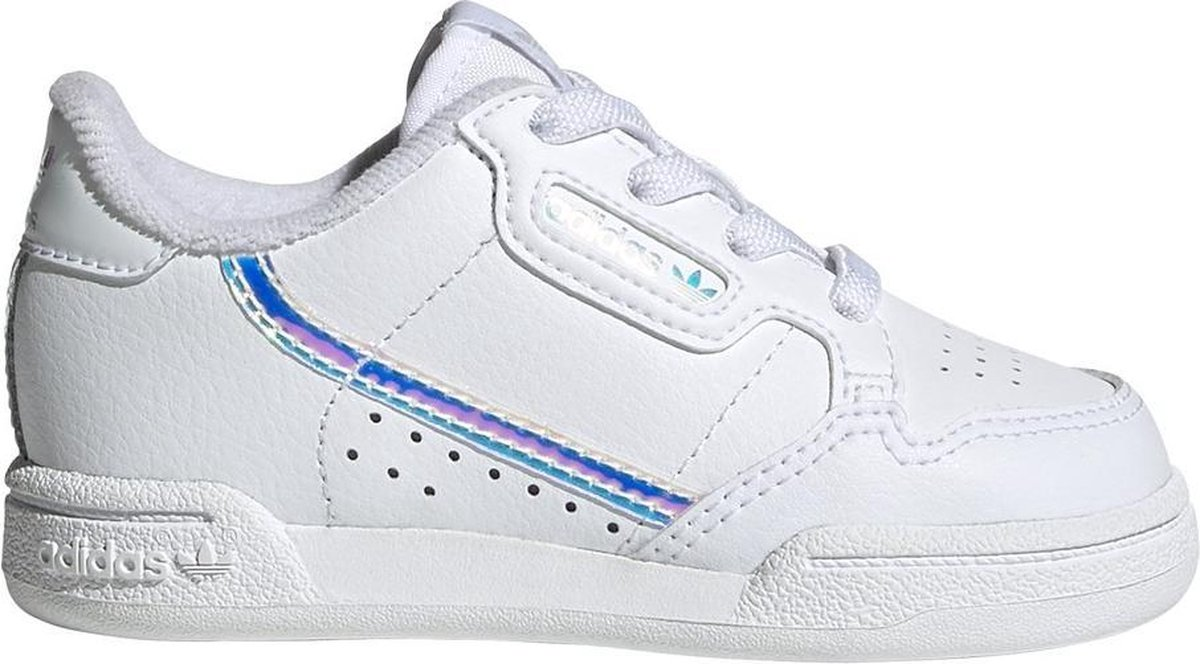 adidas Continental 80 I Sneakers - Wit/Blauw - Maat 22
