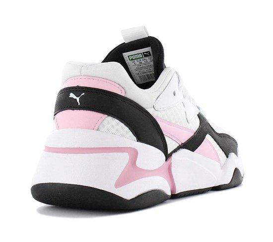 Puma Dames Sneakers Nova 90's Bloc - Wit - Maat 36