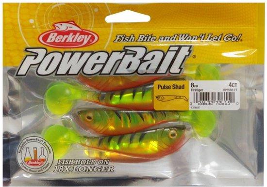 Berkley Powerbait Pulse Shad - 8 cm - firetiger