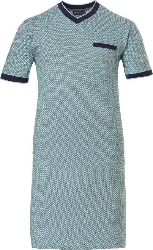 Heren nachthemd Pastunette 13201-615-2 - Blauw