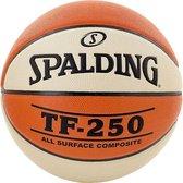 Spalding Tf 250 Basketbal Dames - Oranje / Wit | Maat: 6