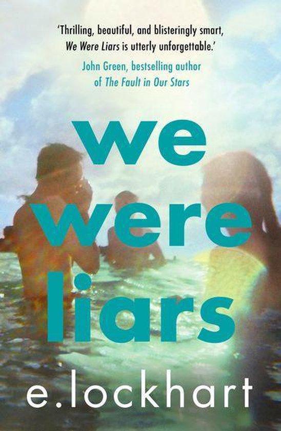 Boek cover We Were Liars van E. Lockhart (Onbekend)
