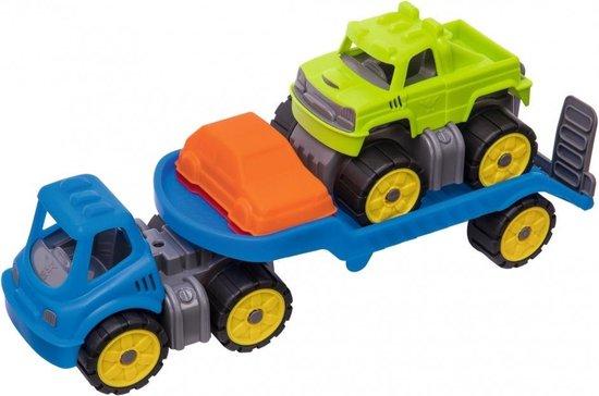 BIG Power Worker Mini Monstertruck Set speelgoedvoertuig