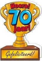 Wenskaart Trofee 70 jaar