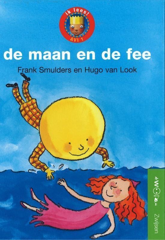 Cover van het boek 'De maan en de fee' van Frank Smulders