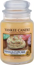 Yankee Candle Large Jar Geurkaars - Vanilla Cupcake