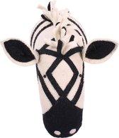 Dierenkop Zoo Zebra Zwart/wit KidsDepot