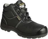 Safety Jogger Bestboy Werkschoen - Hoog model - S3 - Maat 43 - Zwart