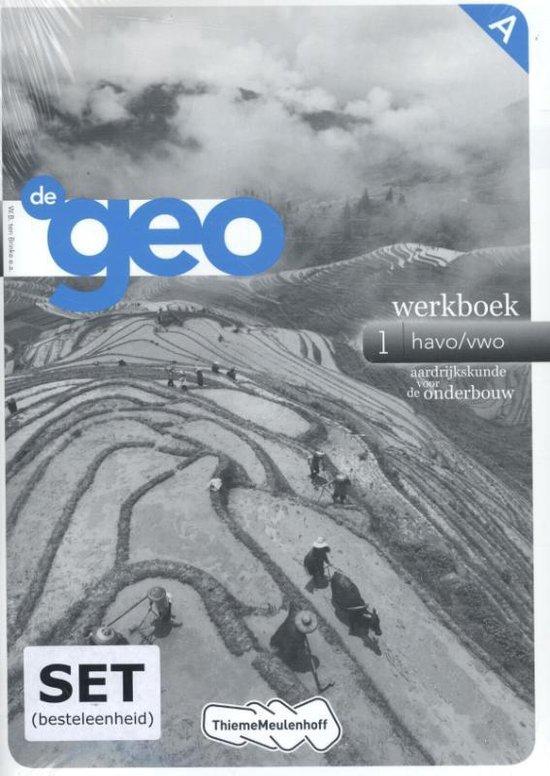 De Geo 1 werkboek havo/vwo - W.B. Ten Brinke | Fthsonline.com