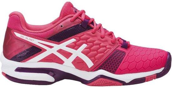 Asics Gel-Blast 7 Sportschoenen - Maat 41.5 - Vrouwen - roze/paars/wit