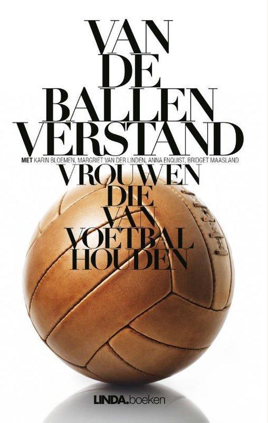 Boek cover Van de ballen verstand van Margriet van der Linden (Onbekend)