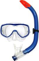 Tunturi - Snorkelset - Duikbril met Snorkel - Volwassenen - Blauw