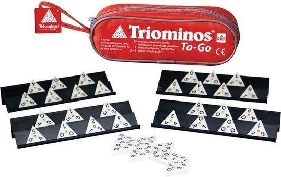Afbeelding van het spel Goliath Triominos in Tasje voor op reis