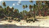 Posterbehang Dinosaurus XXL - 368 x 254 cm