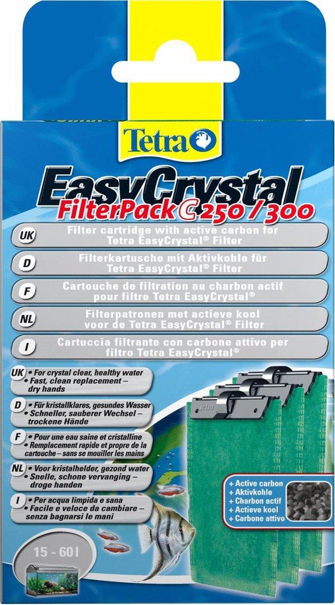 Tetra EasyCrystal Filter Pack C250/C300 - Filtercartridge - Aquariumfilter