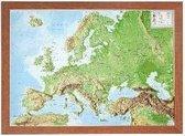 Relief Europa 1:16 MIO mit Holzrahmen