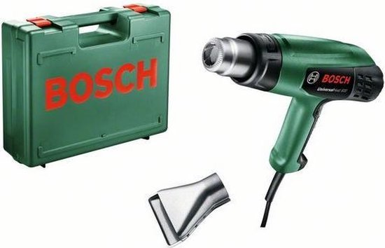 Bosch EasyHeat 600 Heteluchtpistool - 1800 W - Incl. koffer - Incl. 1 mondstuk