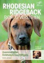 Omslag Rhodesian Ridgeback Richtig Verstehen