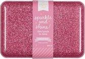 Lunch box: Glitter - roze | A Little Lovely Company