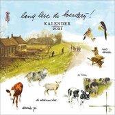 Kalender - 2021 - Rien Poortvliet - Lang leve de boerderij - 30x30cm