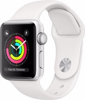 Apple Watch Series 3 - Smartwatch - 38mm - Zilver/Wit