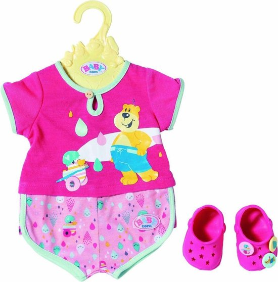 Baby Born Bad Pyjama Met Schoenen 43 Cm