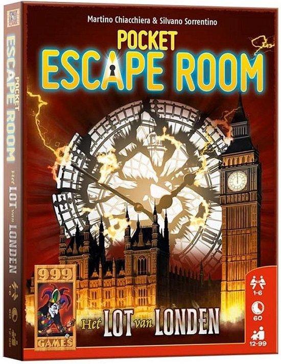 Pocket Escape Room – Het Lot Van Londen