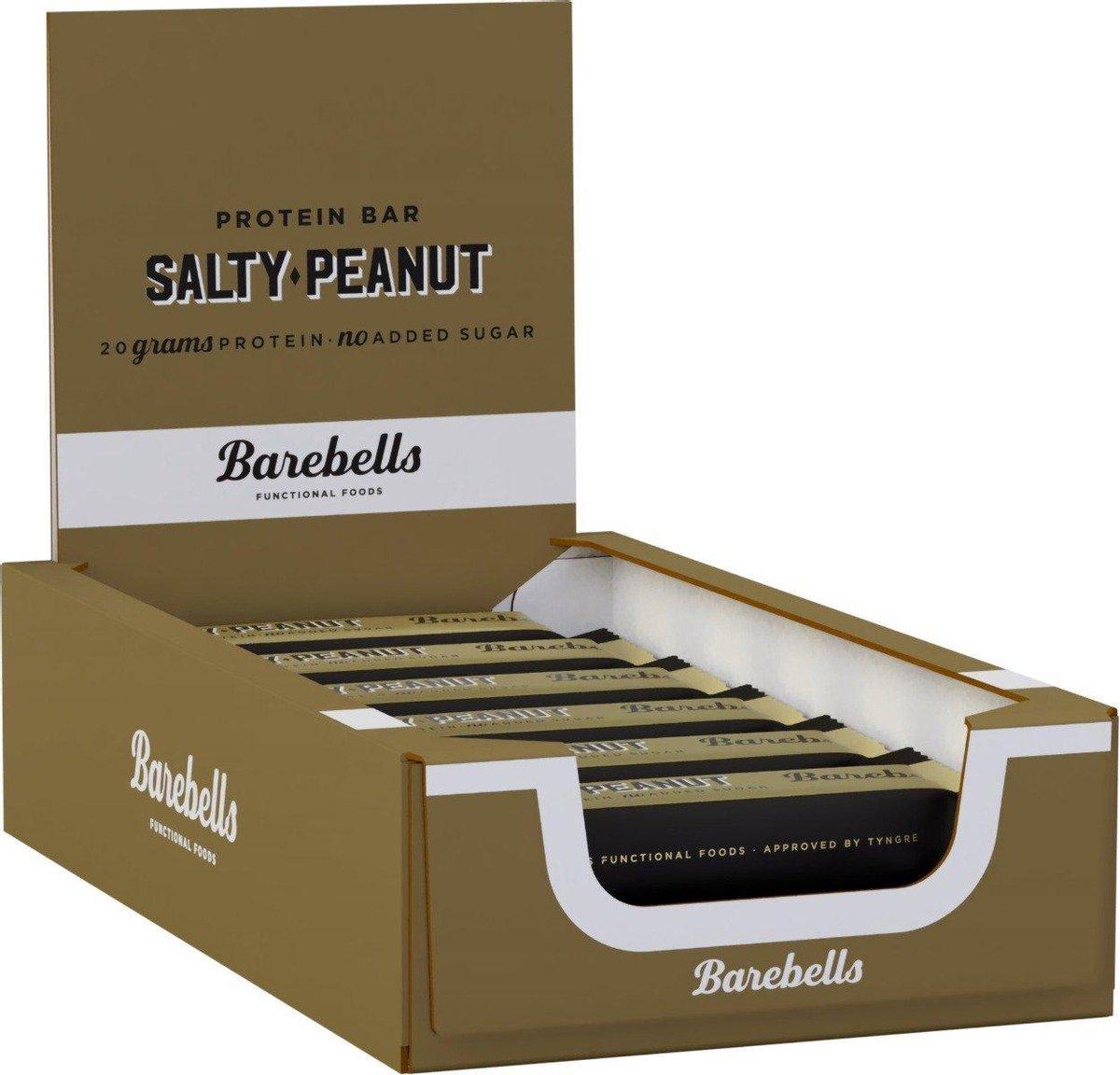 Barebells Protein Bars - Prote ne Repen / Eiwitrepen - Salty Peanut - 12 eiwitrepen