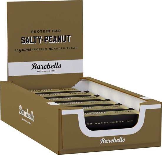 Barebells Protein Bars - Proteïne Repen / Eiwitrepen - Salty Peanut - 12 eiwitrepen