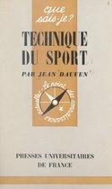 Technique du sport